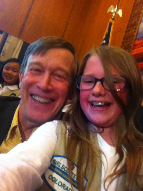 governor selfie