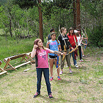 Archery at Troop Camp