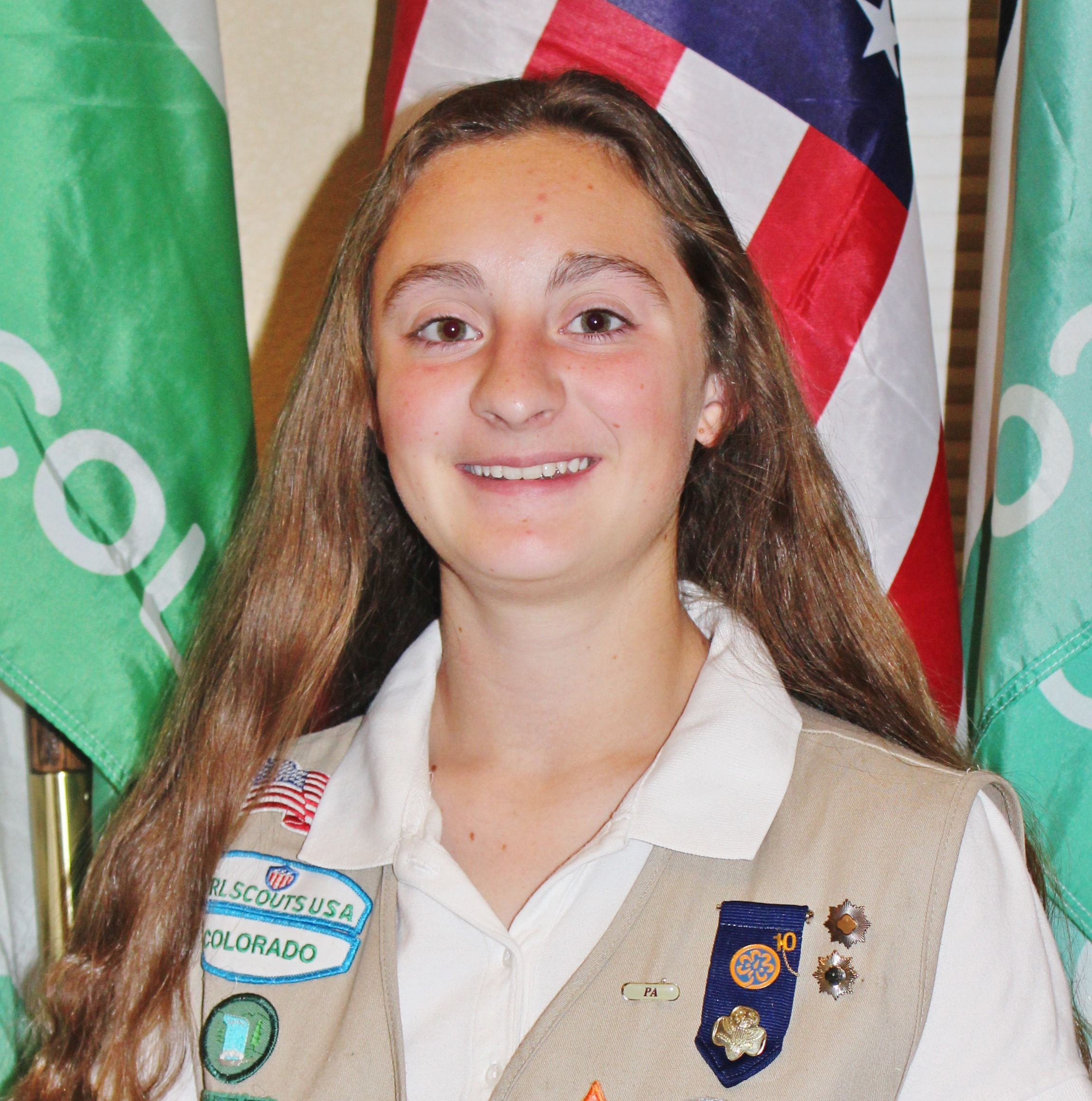 girl scout gold award project: rebecca clark, colorado springs