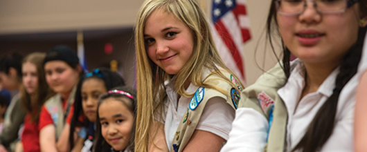 Girl Scout Brownies Can Do Anything