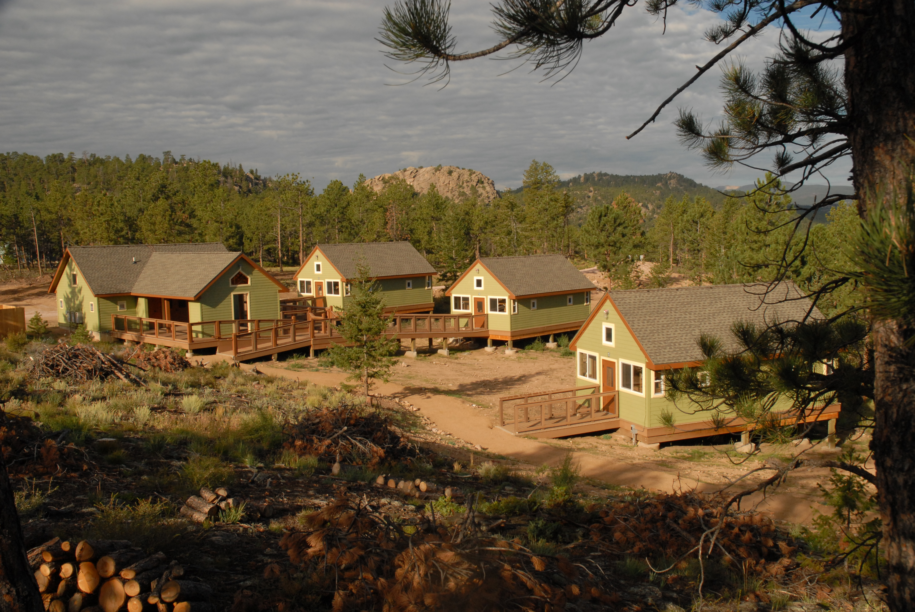 antonio camping cabins payson co san az arkansas in tx for estes sale near park colorado