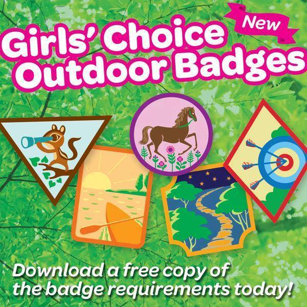 Download the requirements for the new outdoor badges | GSCO