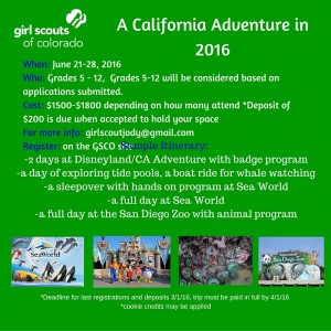 Presents-A California Adventure in 2016
