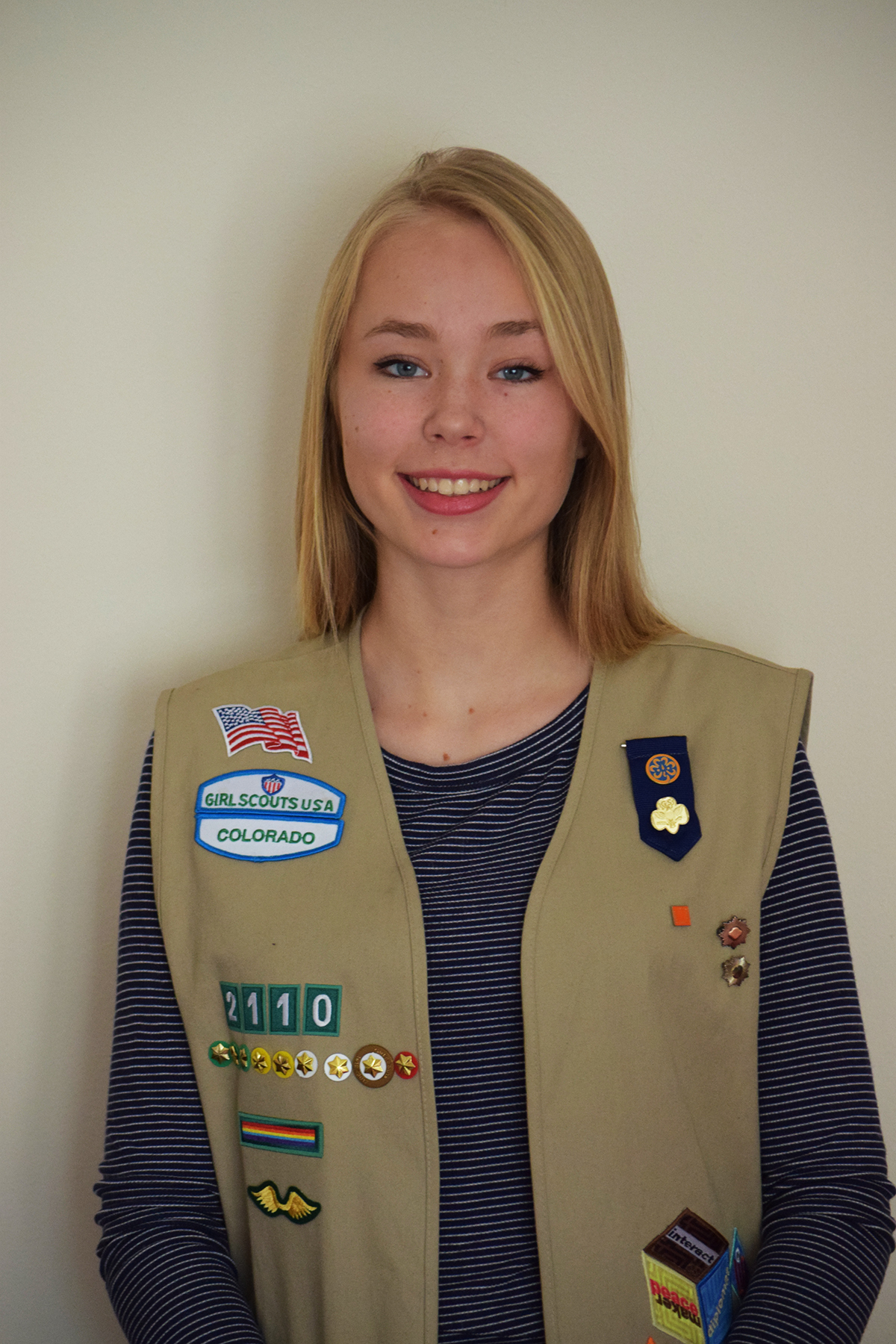 "girl scout gold award project: grace dorgan, golden, ""the nature now"
