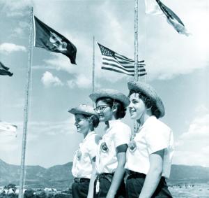 Senior GS at 1959 Roundup