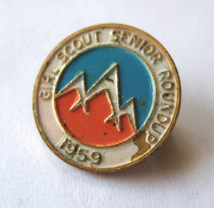 Special Pin from 1959 Roundup