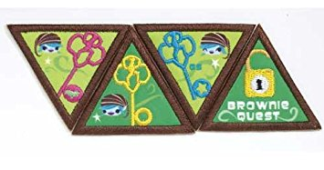 girl scout brownie quest meeting ideas