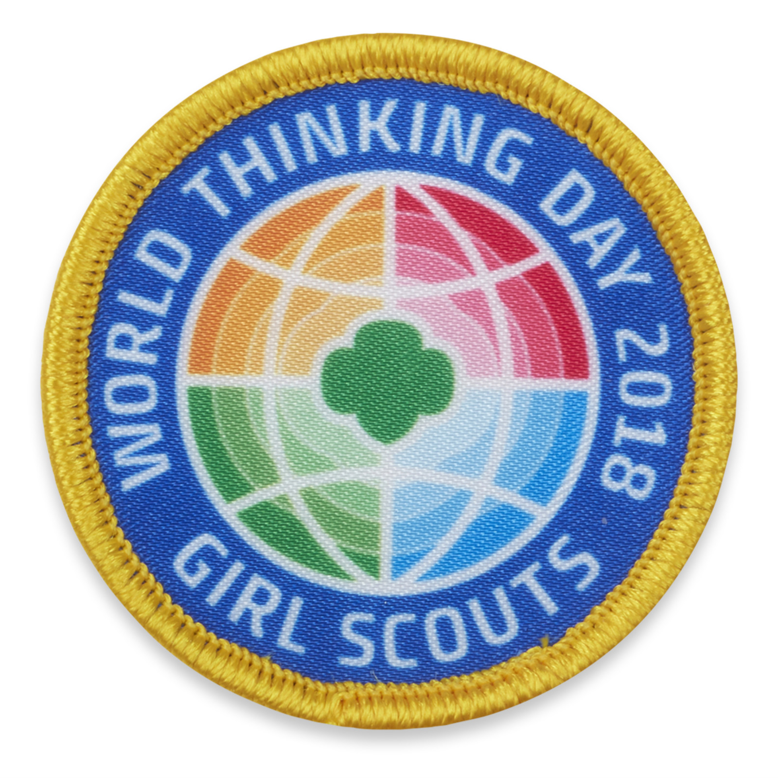 Earn The 2018 World Thinking Day Patch Gsco