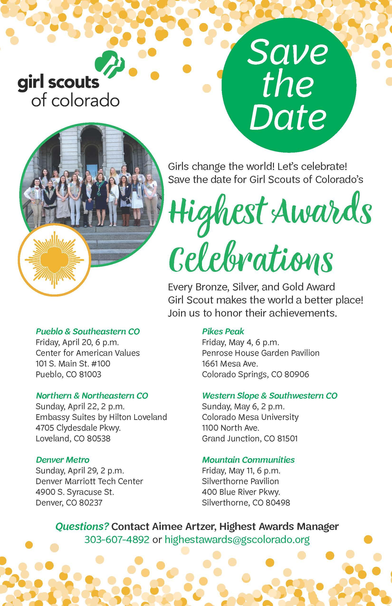 67b8c2284 Save the date: 2018 Highest Awards Celebrations