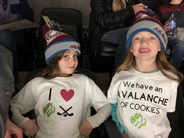 Girl Scout Cookies booth at Pepsi Center | GSCO