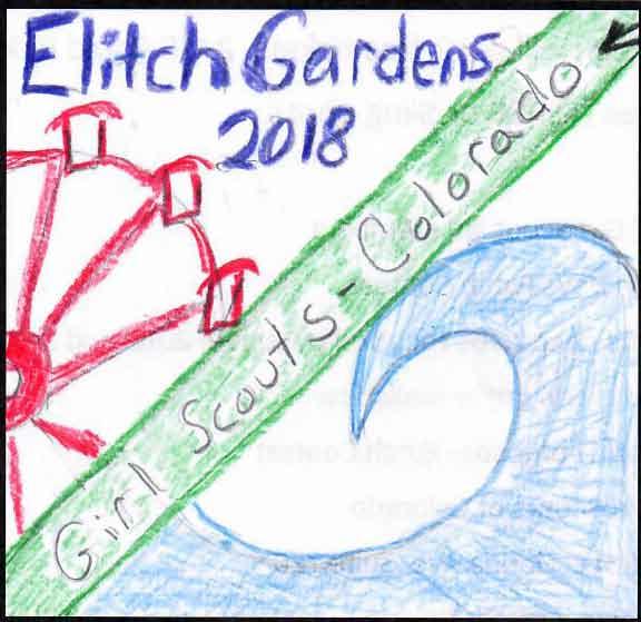 Elitch Gardens patch contest winner   GSCO
